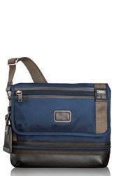 Men's Tumi 'Alpha Bravo Beale' Crossbody Bag Blue Navy