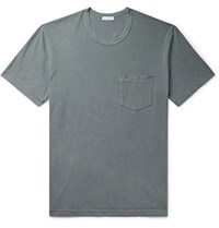 James Perse Combed Cotton Jersey T Shirt Gray