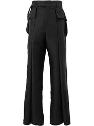 Di Liborio Wide Leg Trousers Black