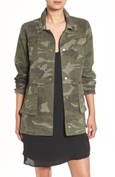 Sincerely Jules Women's 'Alexa' Camo Cotton Military Jacket