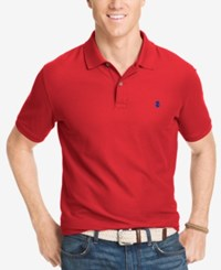Izod Performance Advantage Pique Polo Real Red