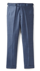Brooklyn Tailors Wool Sharkskin Trousers