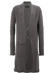 Lost And Found Ria Dunn Long Cardigan Grey