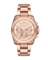 Michael Michael Kors 40Mm Jet Set Chronograph Bracelet Watch Rose Gold