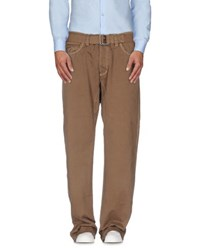 Jaggy Trousers Casual Trousers Men Khaki