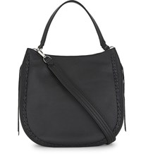 Rebecca Minkoff Unlined Leather Hobo Black