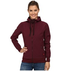 Black Diamond Sinestra Hoodie Merlot Women's Sweatshirt Red