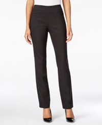 Jm Collection Pull On Slim Leg Pants Only At Macy's Elmer Stripe