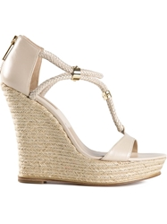 Kors By Michael Kors 'Sherie' Wedge Espadrilles Nude And Neutrals
