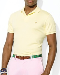 Polo Ralph Lauren Pima Soft Touch Classic Polo Shirt Regular Fit Wicket Yellow