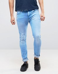 Pepe Jeans Nickle Skinny Jean Bleach Wash Bleach Wash Blue