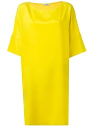 P.A.R.O.S.H. Loose Fit Dress Yellow And Orange