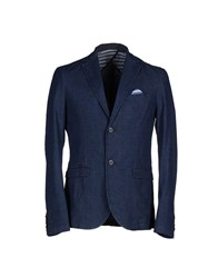 Officina 36 Denim Denim Outerwear Men Blue