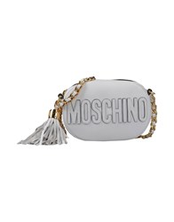 Moschino Handbags White