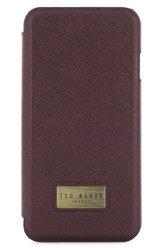 Ted Baker London Aries Iphone 7 Folio Red