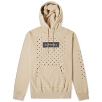 Sophnet. Authentic Logo Dot Hoody Neutrals