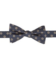 Vince Camuto Dotted Bow Tie Navy