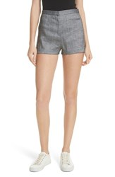 Milly Trudee High Waist Shorts Olive