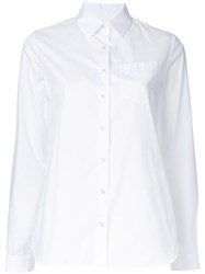 Kolor Ruffled Back Shirt White