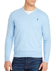 Polo Big And Tall Cashmere Blend Sweater Essex Blue