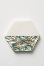 Anthropologie Paua Shell Coaster Oyster