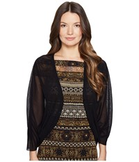 Fuzzi Cocoon Cardigan Nero Women's Sweater Black