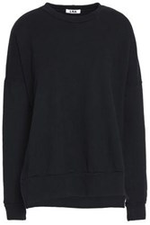 Lna Cotton Blend Sweatshirt Black