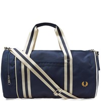 Fred Perry Twin Tipped Barrel Bag Blue
