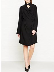 Vivienne Westwood Anglomania Tondo Shirt Dress Black