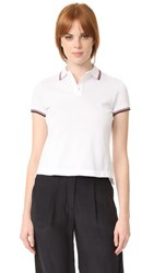 Dsquared2 Collared T Shirt White