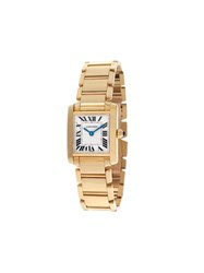 Cartier 2000 Pre Owned Tank Francaise 20Mm 60