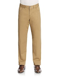 Vince Camuto Straight Leg Trousers Twill