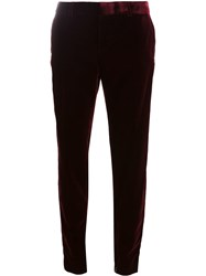 Saint Laurent Velvet Tailored Trousers