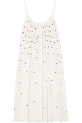 Paul And Joe Embroidered Georgette Dress