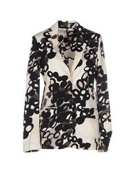 Manila Grace Suits And Jackets Blazers Women Ivory