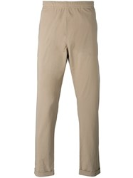 Paul Smith Ps By Elasticated Waist Chinos Men Cotton 36 Nude Neutrals