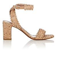 Tabitha Simmons Women's Cork Leticia Ankle Strap Sandals Nude