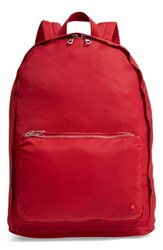 State Bags The Heights Lorimer Backpack Red Red Dahlia