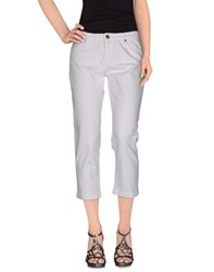 Tommy Hilfiger Denim Denim Trousers Women White