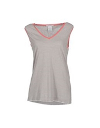Bp Studio Sleeveless Sweaters Coral