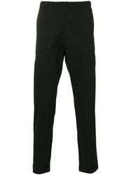 Paul Smith Ps By Draw Coed Trousers Men Cotton 30 Black