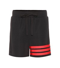 Y 3 Striped Shorts Black