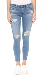 Ag Jeans The Legging Ankle Jeans 10 Years Cloudy Sky