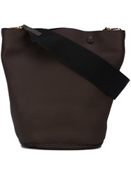 Marni 'Bucket' Tote Brown