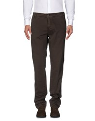 Liu Jo Man Casual Pants Dark Brown