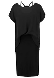 Teddy Smith Rhea Jersey Dress Black