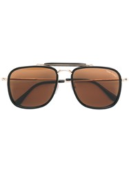 Tom Ford Eyewear Huck Sunglasses Black