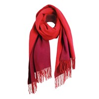 Unpaired The Cozylab Oversized Cashmere Blended Scarf Lipstick Red