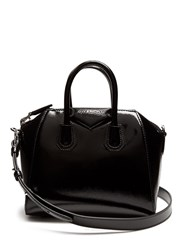 Givenchy Antigona Mini Patent Leather Cross Body Bag Black