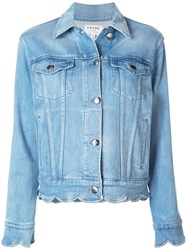 Frame Denim Jacket Blue